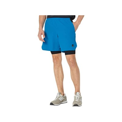 Men's New Balance Fortitech 7 2-in-1 Shorts Wave Blue 9475292 ARSDE834