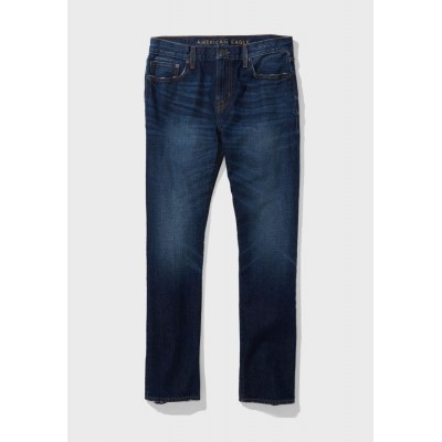 Men's American Eagle blue Mid Wash Straight Fit Jeans AVZHD3209
