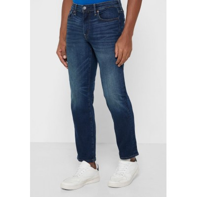 Men's American Eagle blue Mid Wash Straight Jeans FD8H81425