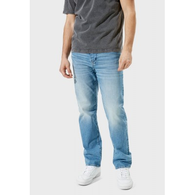 Men American Eagle blue Light Wash Relaxed Jeans On Line SYQJ77386