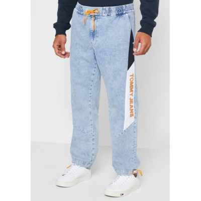 Men Tommy Jeans blue Elasticated Relaxed Jeans F2OAO1658