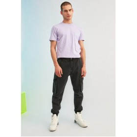 Men's Trendyol grey Rinse Relaxed Cargo Jogg Jeans Cheap U3H8R4129