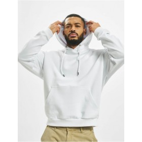 DEF Men Hoodie Bommel in white cotton 20% polyester Ships Free IUBFH658
