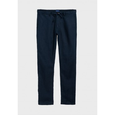 Men's GANT blue Relaxed Tie Waist Chinos O1YV5438